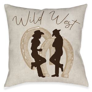 Wild West Indoor Decorative Pillow
