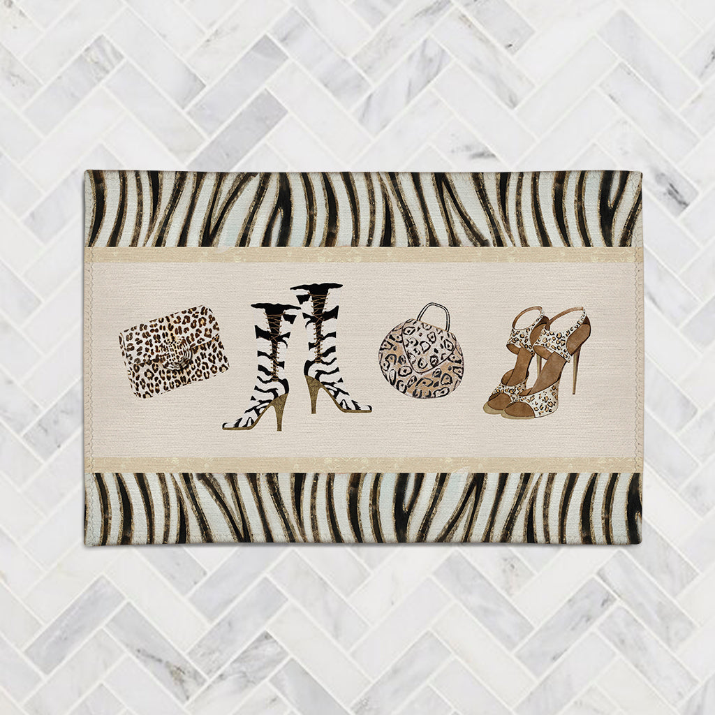 Wild for Fashion Accent Rug