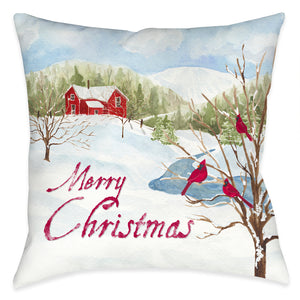 Winter Morning Indoor Decorative Pillow