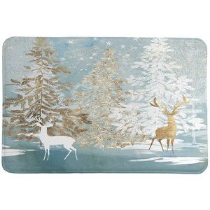 Winter Wonderland Memory Foam Rug