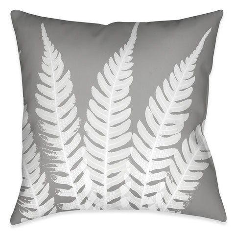 Grey Beauty Outdoor Decorative Pillow
