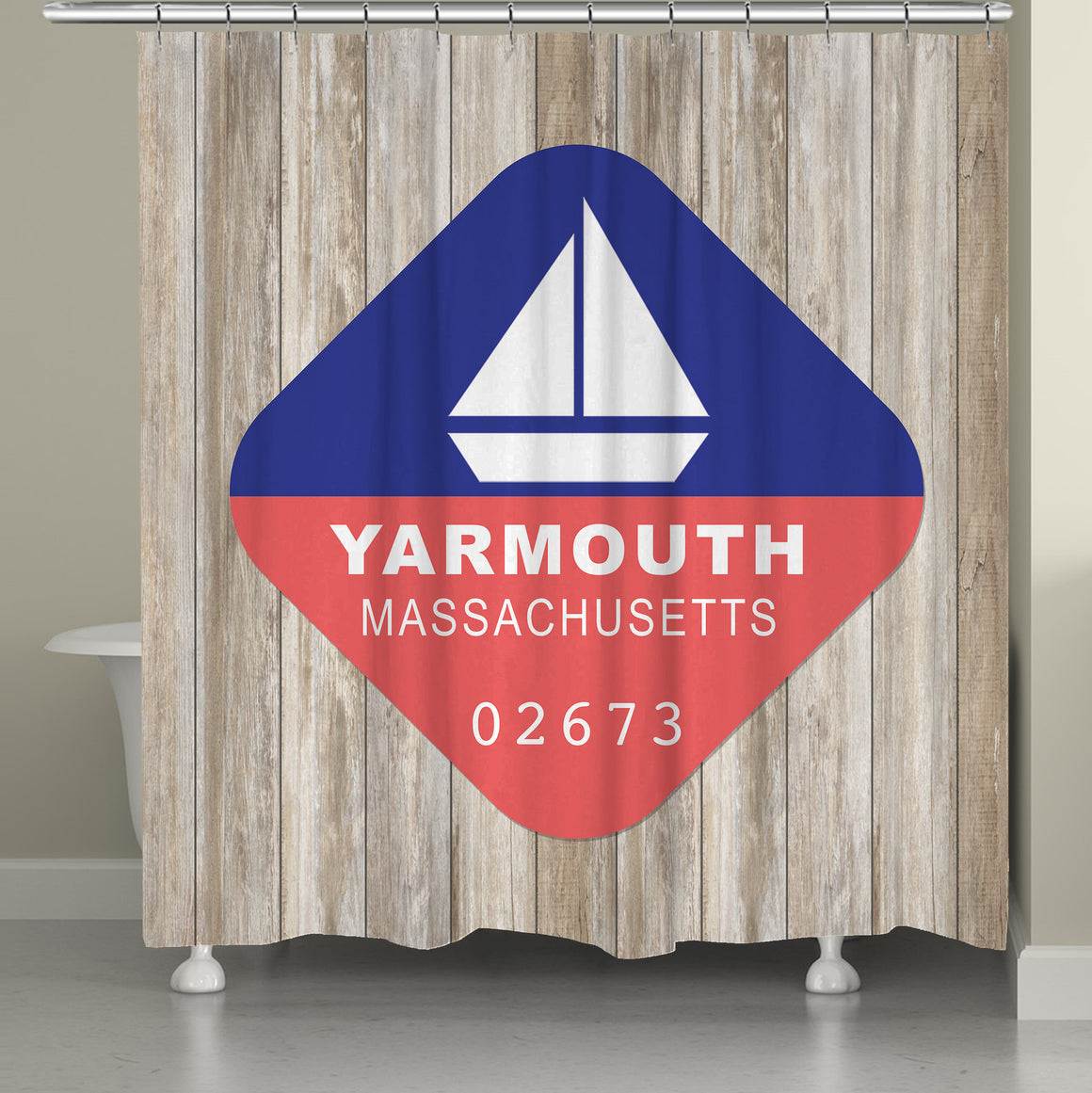 Yarmouth Shower Curtain