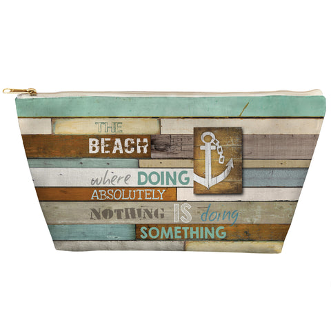 Beach Mantra Zipper Pouch
