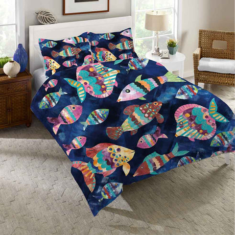 Boho Reef Duvet Cover