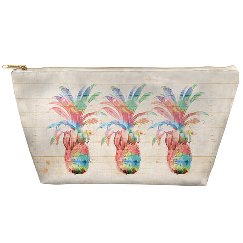 Colorful Pineapples Zipper Pouch