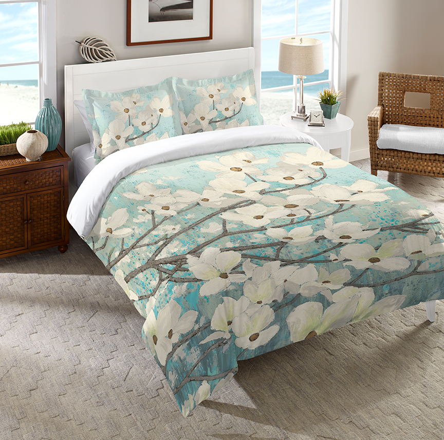 Dogwood Blossoms Comforter