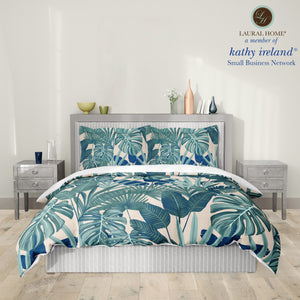 Laural Home kathy ireland® Small Business Network Member Palm Court Royal Comforter