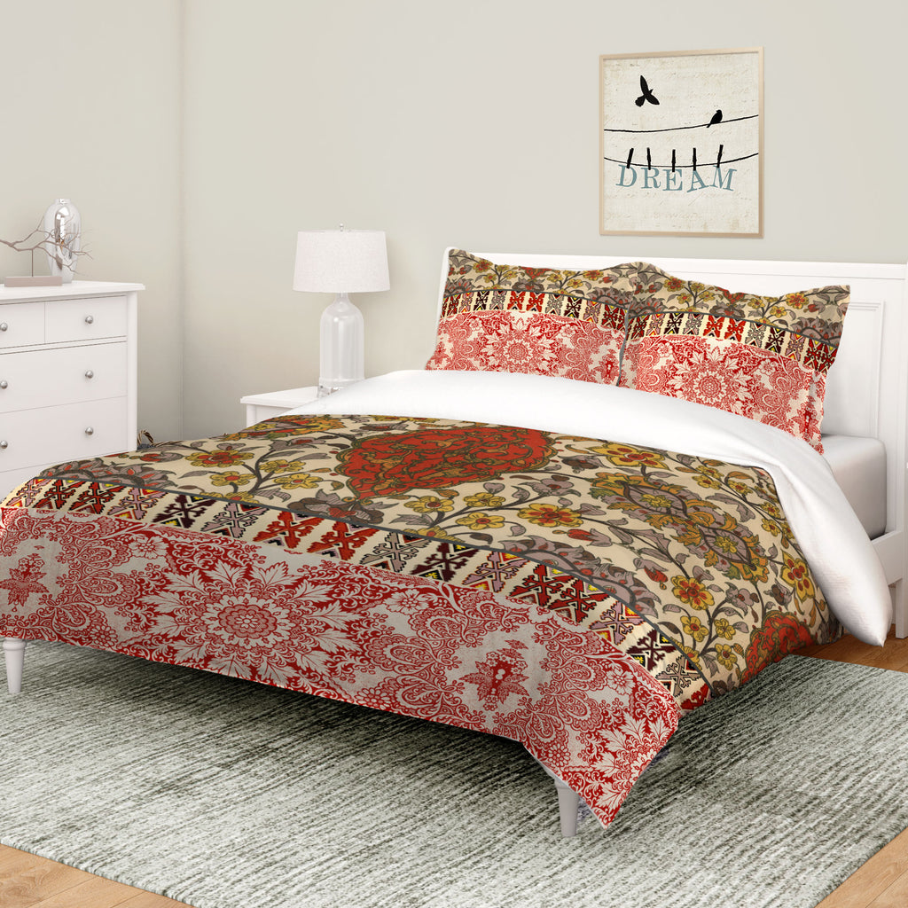 Red Spice Bohemian Tapestry Comforter