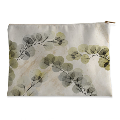 Smoky X-Ray of Eucalyptus Leaves Flat Pouch