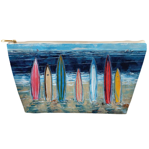 Surfboards Zipper Pouch