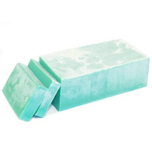 Spearmint & Patchouli Butter Soap Loaf