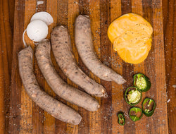 Jalapeno and Cheese Bratwurst