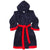 Robe - Navy and Red