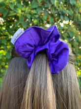 Load image into Gallery viewer, Purple Watercolour Scrunchie