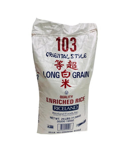 103 ORIENTAL STYLE – Long Grain Rice – 25Lbs - Daily Fresh Grocery