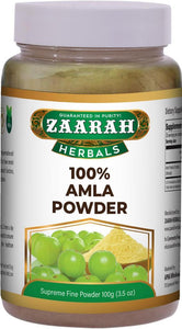 zaarah herbals 100% amla powder - 100gm - Daily Fresh Grocery
