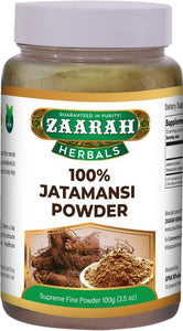 zaarah herbals 100% jatamansi powder - 100gm - Daily Fresh Grocery