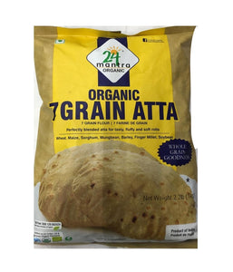 24 Mantra Organic 7 Grain Atta - 2.2 lb - Daily Fresh Grocery
