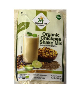 24 Mantra Organic Chickpea Shake Mix - 1.1 lb - Daily Fresh Grocery