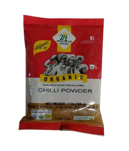 24 Mantra Organic Chilli Powder - 7 oz - Daily Fresh Grocery