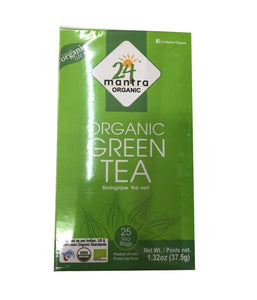 24 Mantra Organic Green Tea - 37.5 Gm - Daily Fresh Grocery