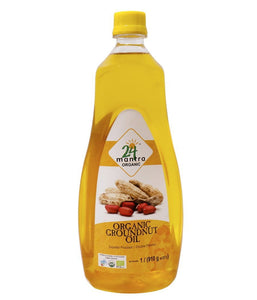 24 Mantra Organic Peanut Oil - 1000ml - Daily Fresh Grocery