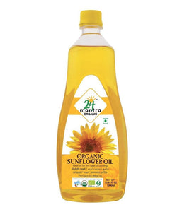 24 Mantra Organic Sunflower Oil - 1000ml - Daily Fresh Grocery