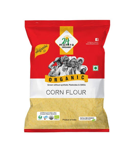 24 Mantra Organic Whole Corn Flour - 2 lb - Daily Fresh Grocery