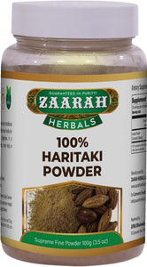 zaarah herbals 100% haritaki powder - 100gm - Daily Fresh Grocery