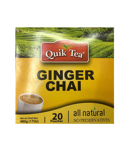 Quik Tea Ginger  Chai - 480 Gm - Daily Fresh Grocery