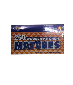 250 Wooden Kitchen Matches - Daily Fresh Grocery