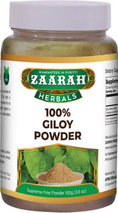 zaarah herbals 100% giloy powder - 100gm - Daily Fresh Grocery