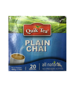 Quik Tea Plain Chai - 480 Gm - Daily Fresh Grocery