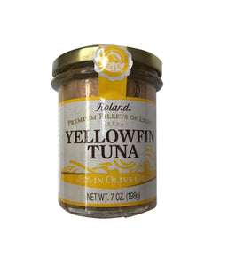 Roland Yellowfin Tuna In Olive Oil - 198gm - Daily Fresh Grocery
