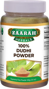 zaarah herbals 100% dudhi powder - 100gm - Daily Fresh Grocery