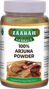 zaarah herbals 100% arjuna powder - 100gm - Daily Fresh Grocery