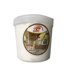 Joy Vanilla Ice Cream - 64 FL Ozs - Daily Fresh Grocery