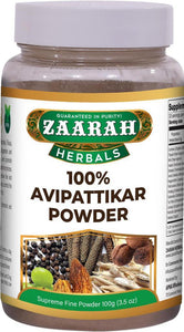 zaarah herbals 100% avipattikar powder - 100gm - Daily Fresh Grocery