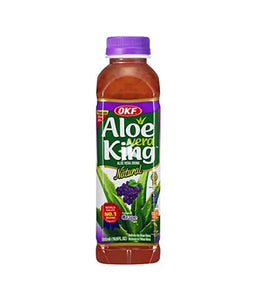 Okf Aloevera King Grape Drink - 500ml - Daily Fresh Grocery
