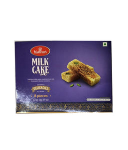 Haldiram's Milk Cake 8 Pieces - 340 Gm - Daily Fresh Grocery