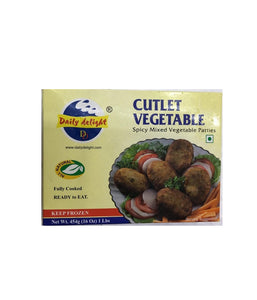 Daily Delight Cutlet Vegetable - 16 oz - Daily Fresh Grocery