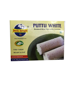 Daily Delight Puttu White - 350 Gm - Daily Fresh Grocery