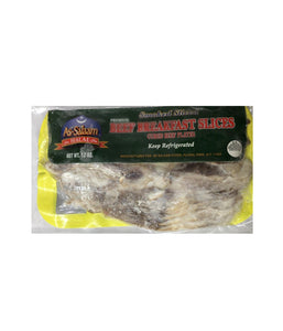 As-salaam Halal Beef Breakfast Slices - 12 oz - Daily Fresh Grocery