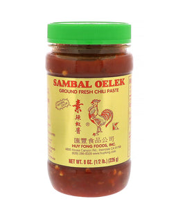 Sambal Oelek Ground Fresh Chili Paste - 8 oz - Daily Fresh Grocery