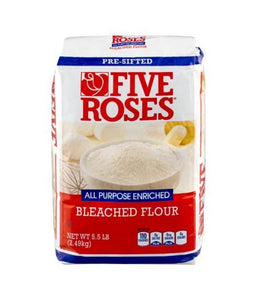 Five Roses Bleached Flour -2.49kg - Daily Fresh Grocery