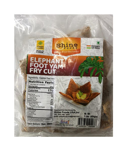 Shine Foods Elephant Foot Yam Fry Cut - 545 Gm - Daily Fresh Grocery