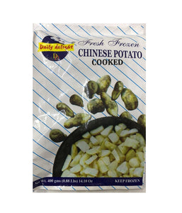 Daily Delight Chinese Potato Cooked - 400 Gm - Daily Fresh Grocery