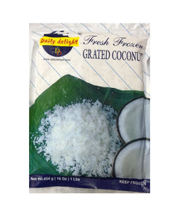 Daily Delight Grated Coconut - 454 Gm - Daily Fresh Grocery