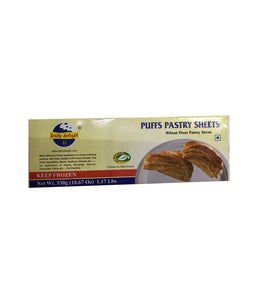 Daily Delight Puffs Pastry Sheets - 530 Gm - Daily Fresh Grocery