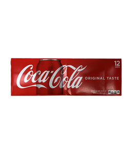 Coca-Cola Original Taste 12 cans - 12 FL oz - Daily Fresh Grocery